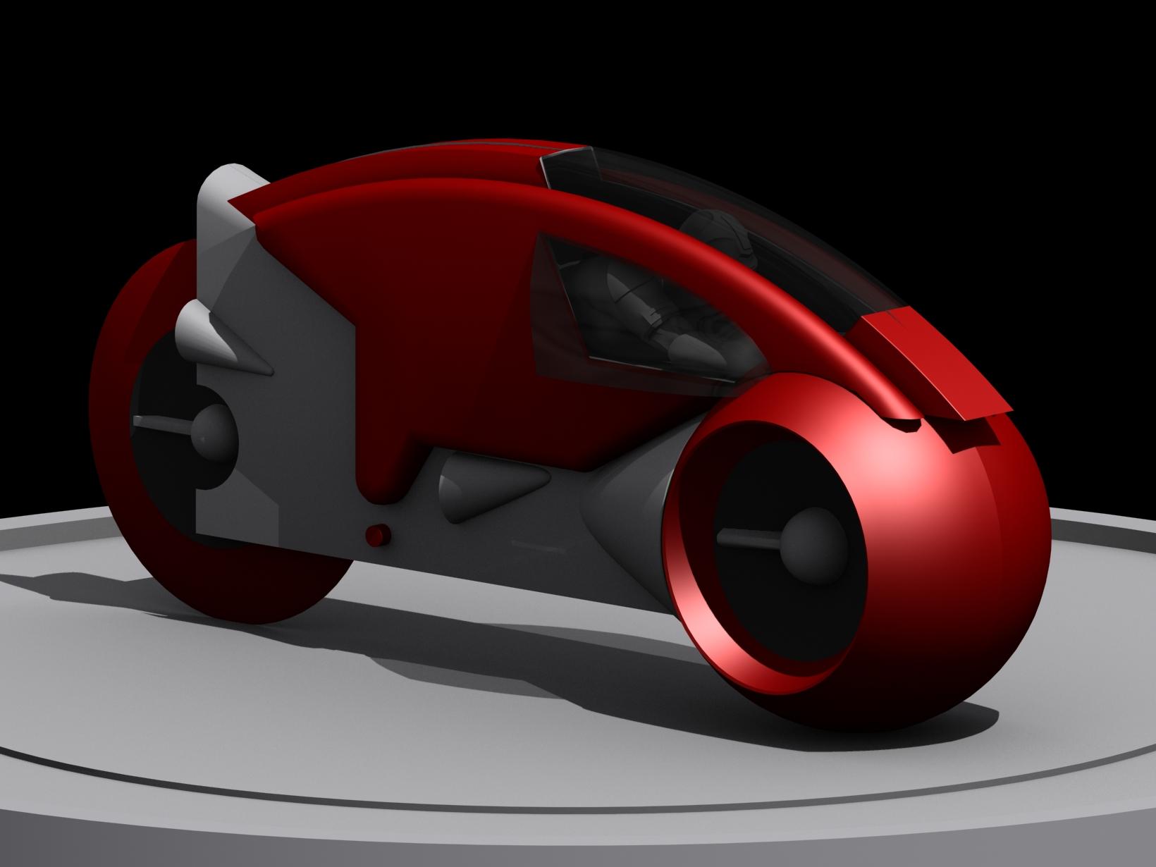 < model kit > TRON 1 LightCycle Render05