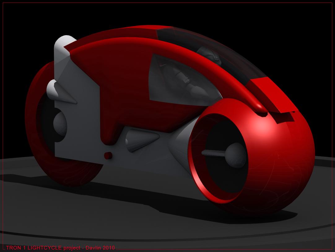 < model kit > TRON 1 LightCycle Render1201