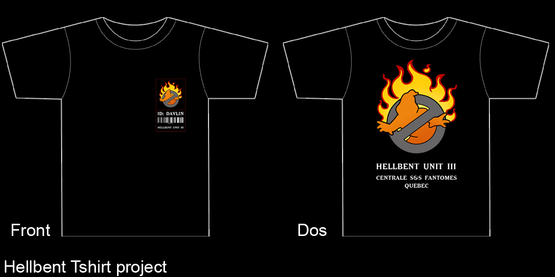 Mon uniforme Hellbent Exemple