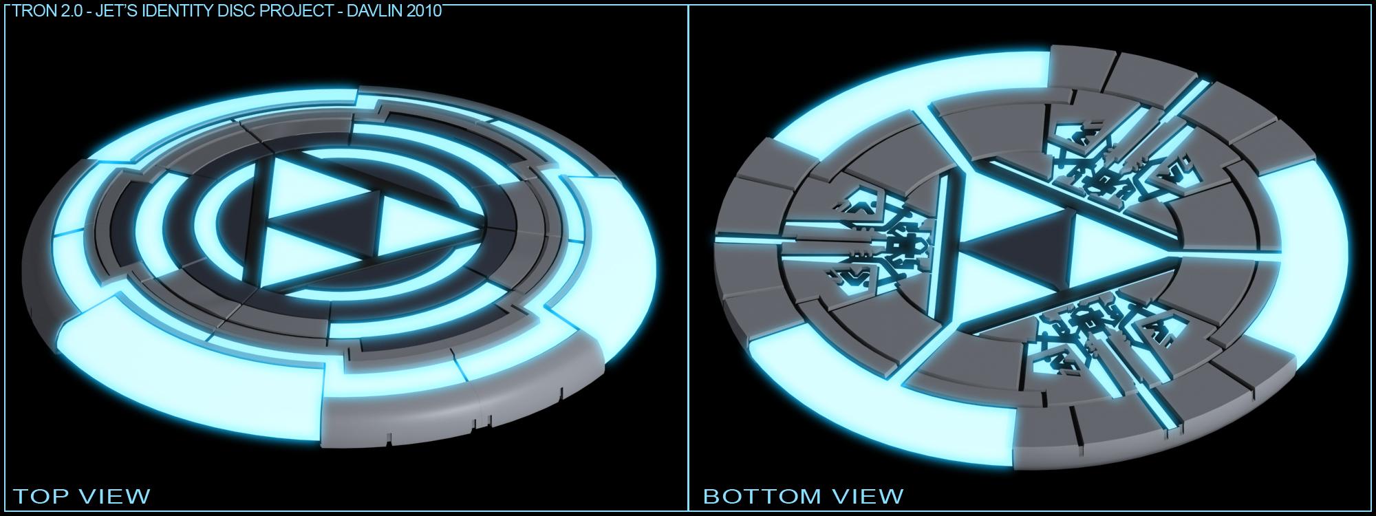 Jet's Identity Disc de Tron 2.0 Beautyrender