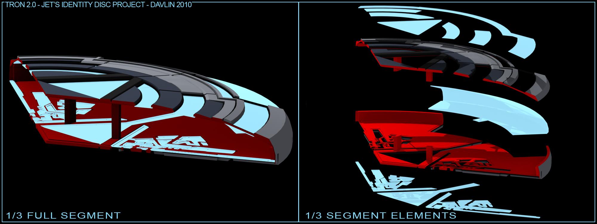 Jet's Identity Disc de Tron 2.0 Techrender