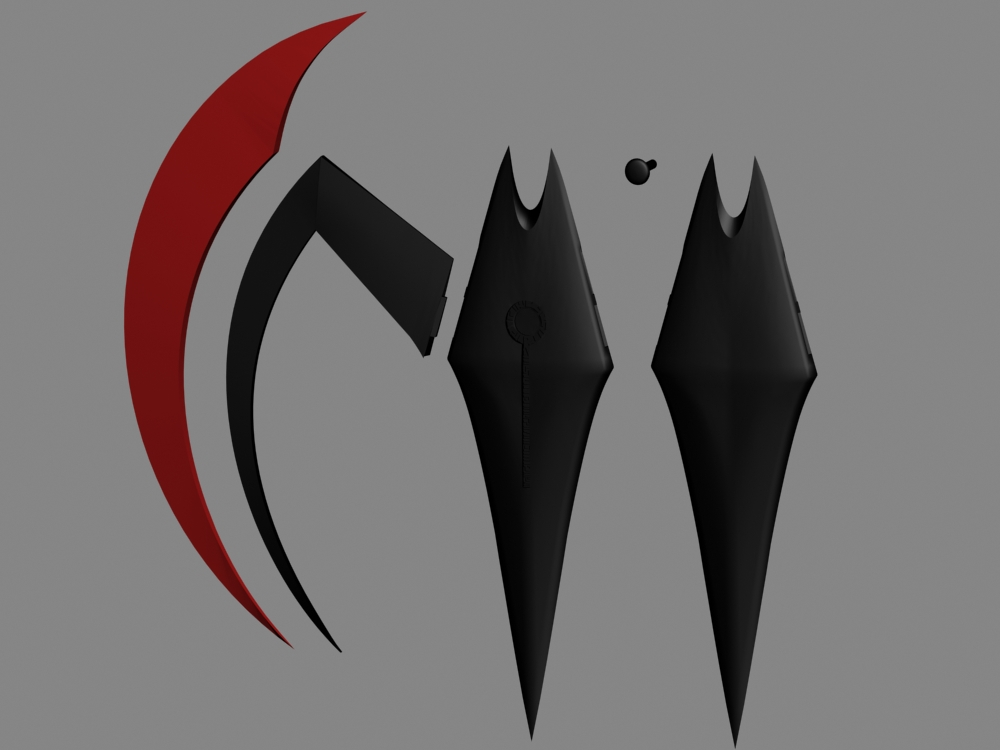 Le Batarang de Batman Beyond Renders02