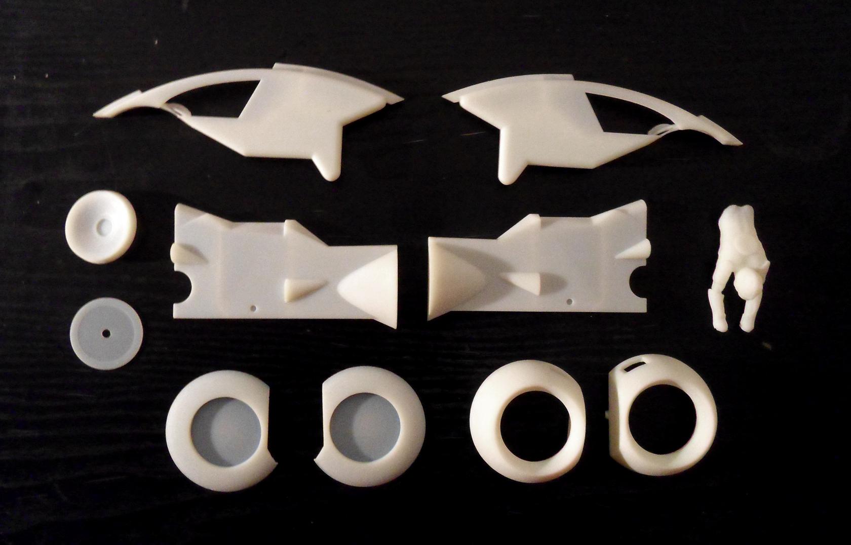 < model kit > TRON 1 LightCycle SDC15450